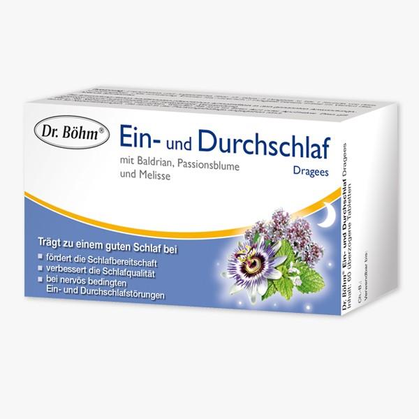 DR. BOEHM Ein- und Durchschlaf Dragees