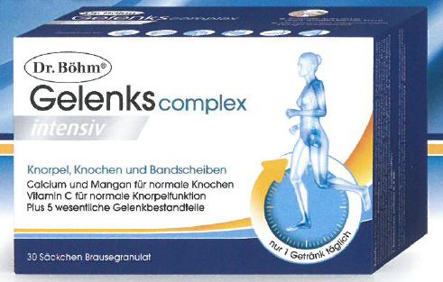 Dr. Böhm Gelenkscomplex Intensiv Granulat