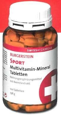 Burgerstein Sport Tabletten