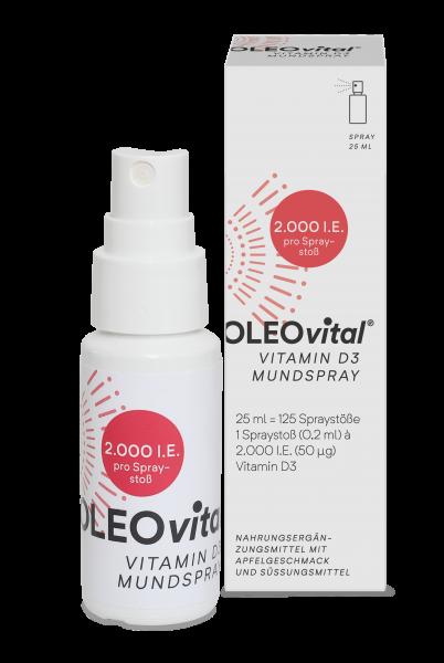 Oleovital Vitamin D3 Spray 2.000 IE