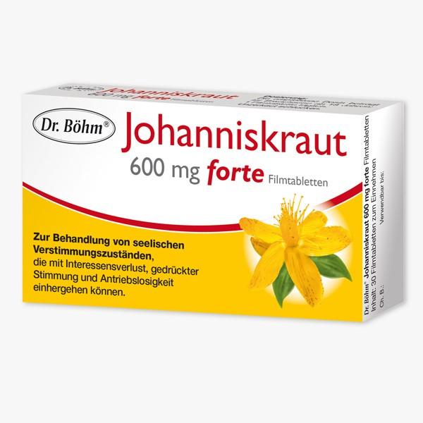 DR. BOEHM Johanniskraut 600 mg forte - Filmtabletten