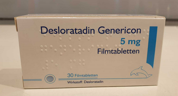 Desloratadin Genericon 5mg Filmtabletten