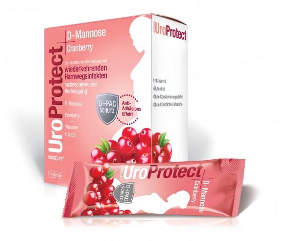 Biogelat UroProtect D-Mannose und Cranberry Granulat