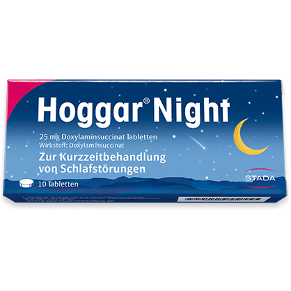 Hoggar Night Schmelztabletten 25mg
