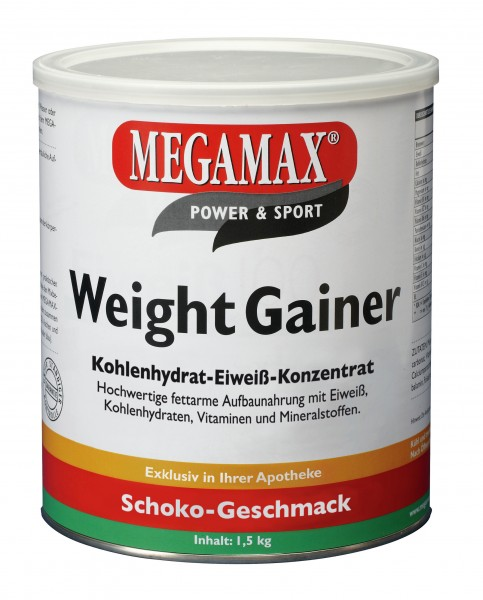MEGAMAX Weight Gainer Pulver Schoko