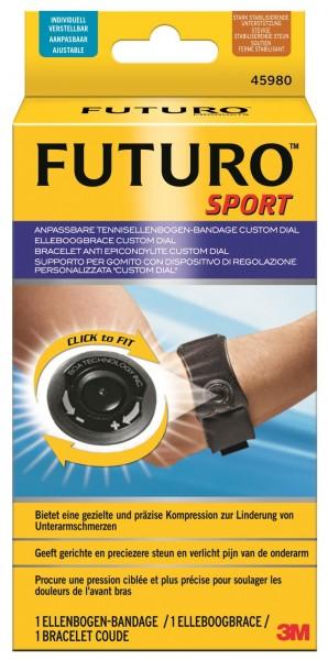 Futuro Custom Dial Sport Tennisellenbogen-Bandage, anpassbar