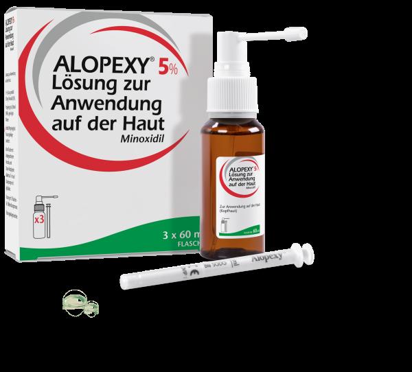 Alopexy Lösung gegen Haarausfall 5%