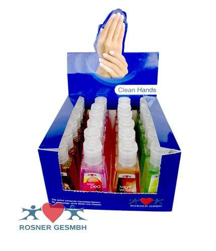 Rosner Handdesinfektionsgel Clean Hands Box