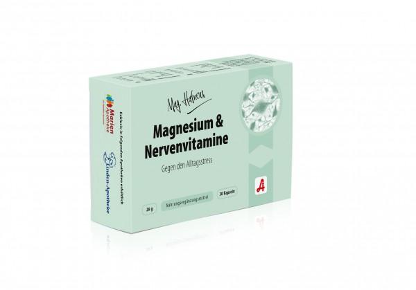 Mag. Hafners Magnesium & Nerven Kapseln