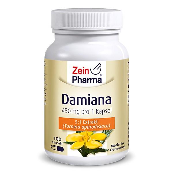 Zeinpharma Damiana 450 mg Kapseln