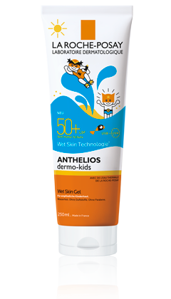 Anthelios Dermo-Kids Wet Skin Gel LSF 50+
