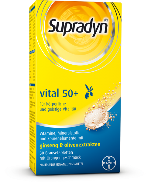 Supradyn® vital 50+ - Brausetabletten