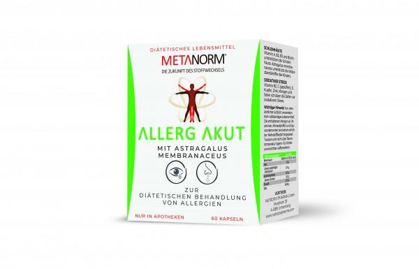 Metanorm Allerg Akut Kapseln