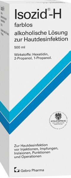 Isozid®-H farblos - alkoholische Lösung zur Hautdesinfektion