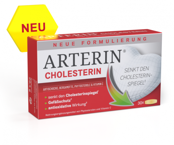 Arterin Cholesterin Cardio Complex Tabletten