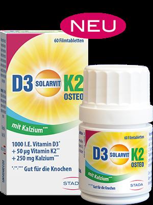 D3 Solarvit K2 Ca OSTEO