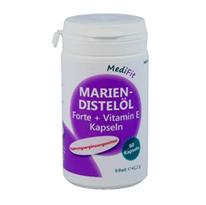 Mariendistelöl 500mg Forte + Vitamin E Kapseln