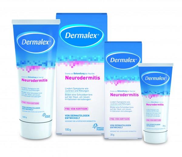 Dermalex Creme bei Neurodermitis