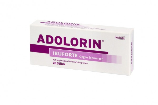 ADOLORIN IBUFORTE 400 mg Dragees
