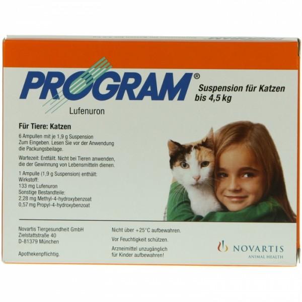 Program Suspension-Ampulle für Katzen 7%
