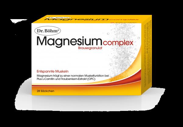 Dr. Böhm Magnesium Complex Brausegranulat