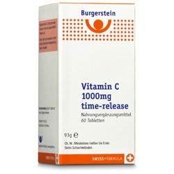 Burgerstein Vitamin C 1000mg time-release 60 Tabletten