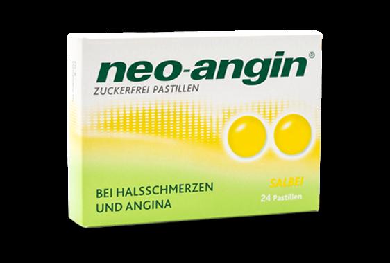 Neo Angin Lutschpastillen Salbei